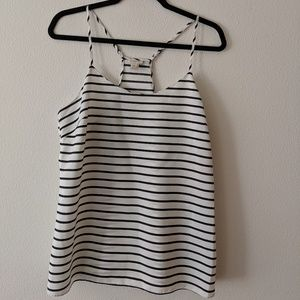 J Crew Striped Tank Top